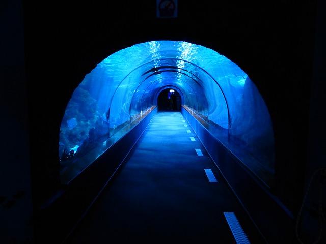 podvodní tunel